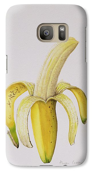 Banana Galaxy S7 Case by Alison Cooper