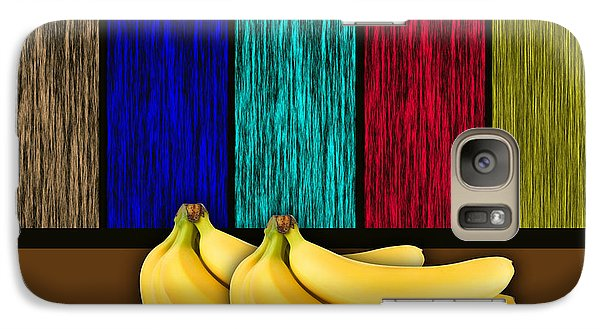 Bananas Galaxy Case by Marvin Blaine
