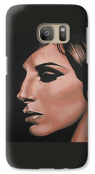 Barbra Streisand Galaxy S7 Case by Paul Meijering
