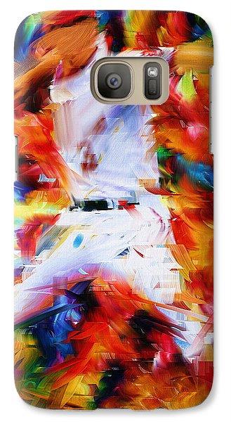 Baseball  I Galaxy S7 Case by Lourry Legarde