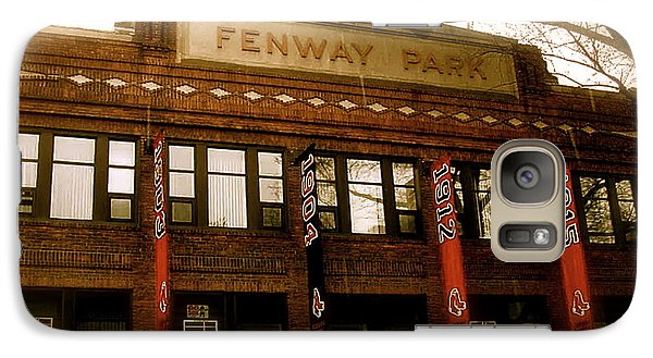 Baseballs Classic  V Bostons Fenway Park Galaxy S7 Case by Iconic Images Art Gallery David Pucciarelli