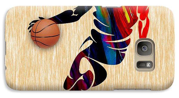 Basketball Galaxy Case by Marvin Blaine
