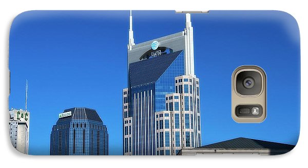 Batman Building And Nashville Skyline Galaxy Case by Dan Sproul