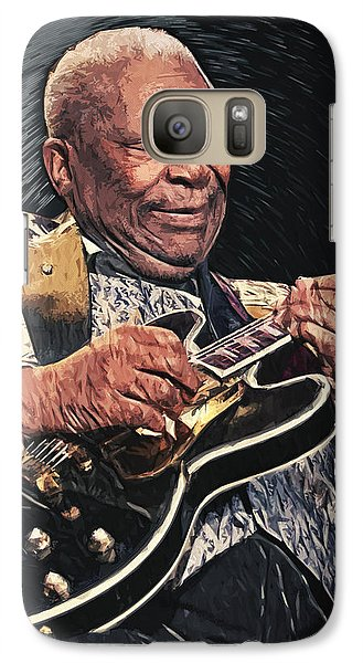 B.b. King II Galaxy S7 Case by Taylan Apukovska