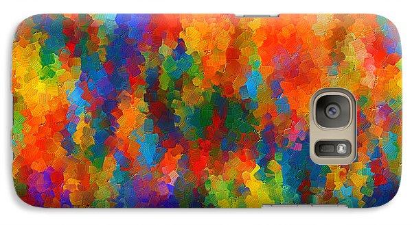 Be Bold Galaxy Case by Lourry Legarde
