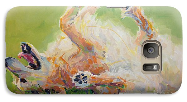 Bears Backscratch Galaxy Case by Kimberly Santini