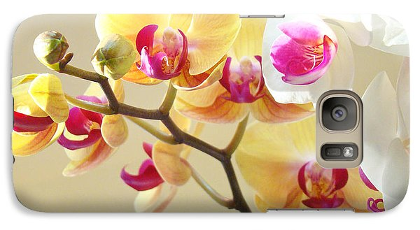 Beautiful Orchids Floral Art Prints Orchid Flowers Galaxy S7 Case by Baslee Troutman