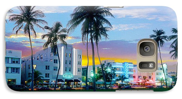 Beautiful South Beach Galaxy S7 Case by Jon Neidert