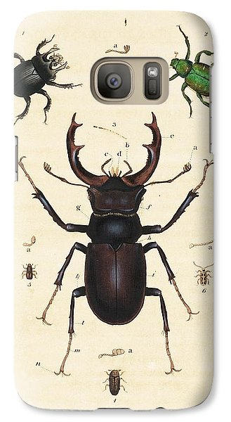 Beetles Galaxy S7 Case by King's College London