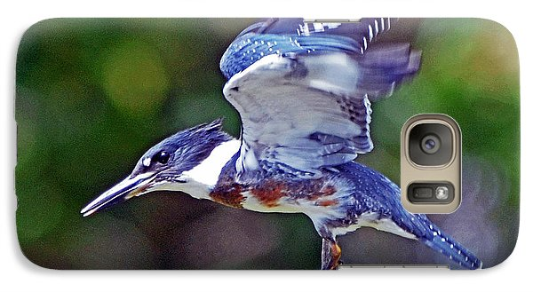 Galaxy Case featuring the photograph Belted Kingfisher by Rodney Campbell