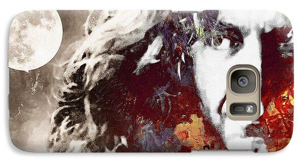 Beneath The Summer Moon Galaxy S7 Case by Steve K