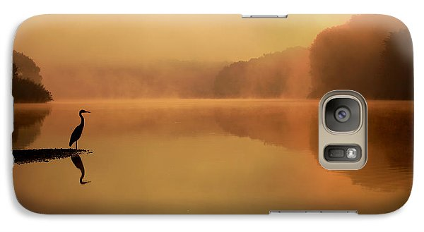 Beside Still Waters Galaxy Case by Rob Blair