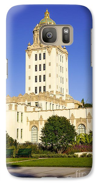 Beverly Hills Police Station Galaxy S7 Case by Paul Velgos