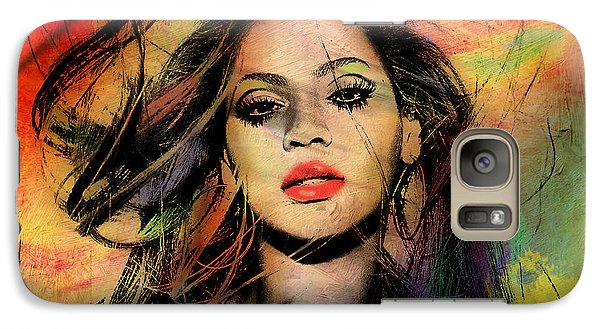 Beyonce Galaxy S7 Case by Mark Ashkenazi