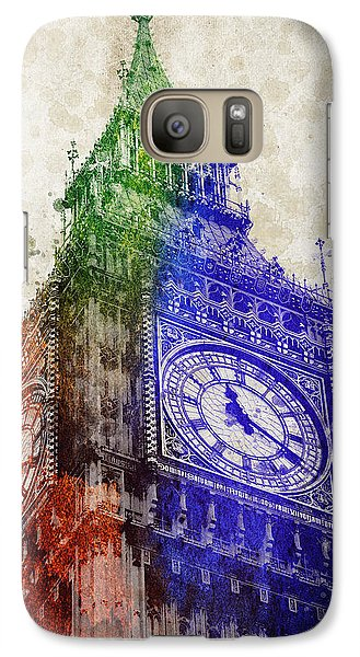 Big Ben London Galaxy S7 Case by Aged Pixel