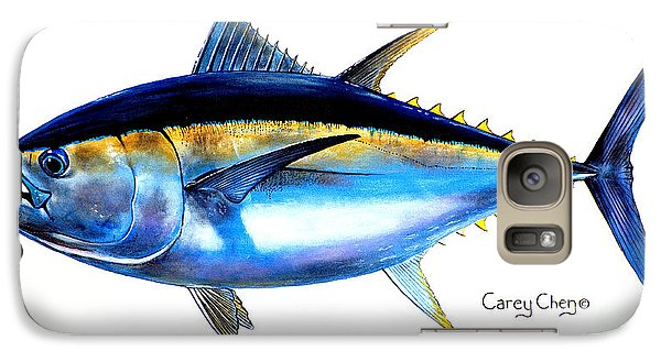 Big Eye Tuna Galaxy Case by Carey Chen