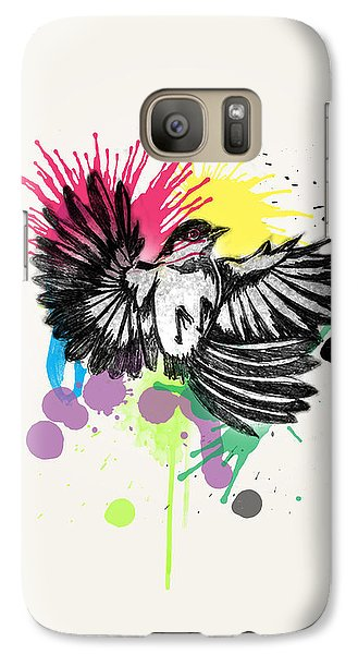 Bird Galaxy S7 Case by Mark Ashkenazi