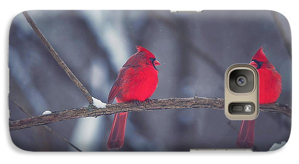 Birds Of A Feather Galaxy S7 Case by Carrie Ann Grippo-Pike