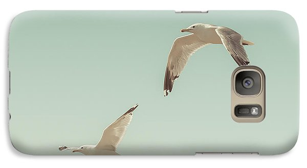 Birds Of A Feather Galaxy Case by Lucid Mood