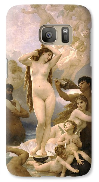Birth Of Venus Galaxy S7 Case by William Bouguereau