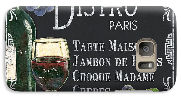 Bistro Paris Galaxy Case by Debbie DeWitt