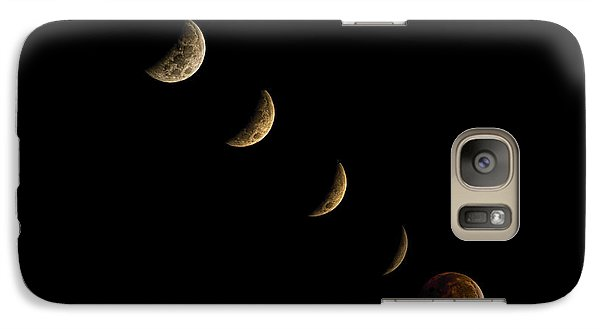 Blood Moon Galaxy S7 Case by James Dean