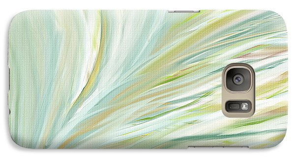 Blooming Grass Galaxy Case by Lourry Legarde