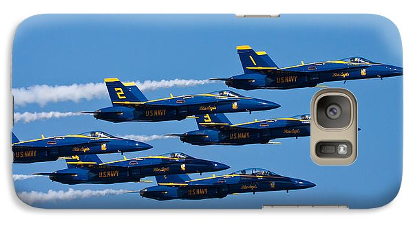 Blue Angels Galaxy S7 Case by Adam Romanowicz