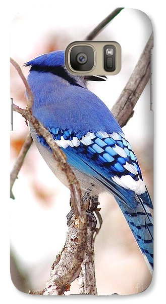 Blue Jay Galaxy Case by Robert Frederick