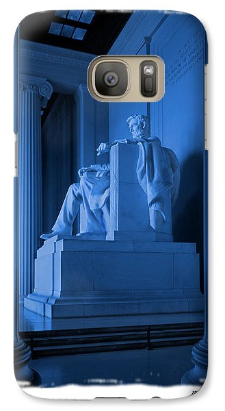 Blue Lincoln Galaxy S7 Case by Mike McGlothlen