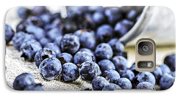 Blueberries Galaxy Case by Elena Elisseeva