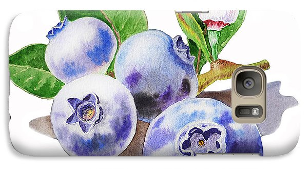 Artz Vitamins The Blueberries Galaxy Case by Irina Sztukowski