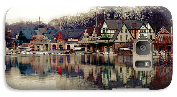 Boathouse Row Philadelphia Galaxy Case by Tom Gari Gallery-Three-Photography