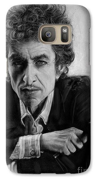Bob Dylan Galaxy Case by Andre Koekemoer