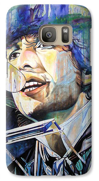 Bob Dylan Tangled Up In Blue Galaxy S7 Case by Joshua Morton