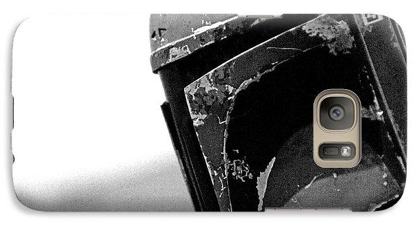 Boba Fett Helmet 24 Galaxy S7 Case by Micah May