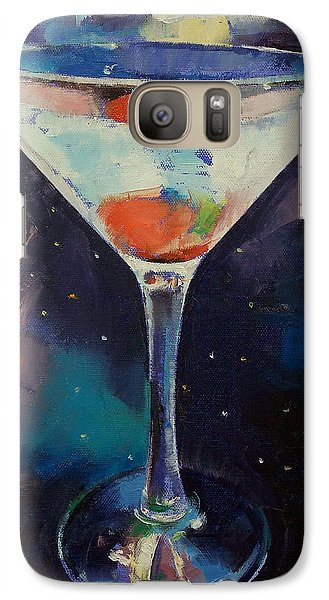 Bombay Sapphire Martini Galaxy S7 Case by Michael Creese
