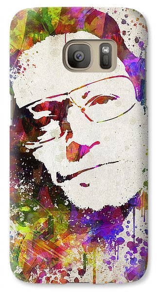 Bono In Color Galaxy S7 Case by Aged Pixel