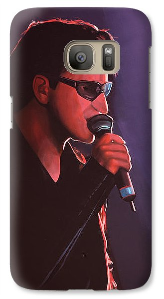 Bono U2 Galaxy S7 Case by Paul Meijering