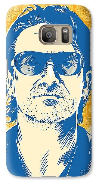 Bono Pop Art Galaxy S7 Case by Jim Zahniser