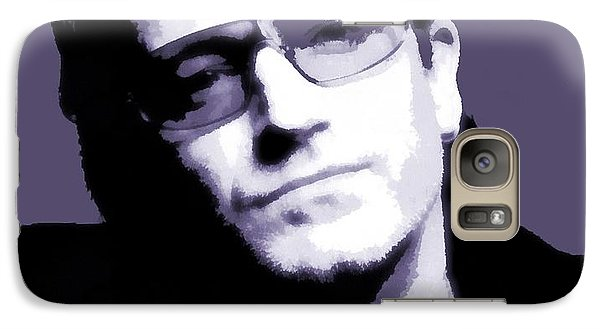 Bono Portrait Galaxy S7 Case by Dan Sproul