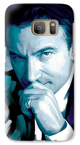 Bono U2 Artwork 4 Galaxy S7 Case by Sheraz A