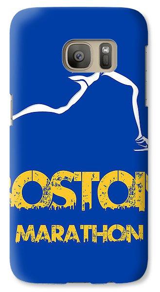 Boston Marathon2 Galaxy Case by Joe Hamilton