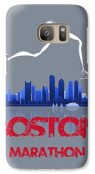 Boston Marathon3 Galaxy Case by Joe Hamilton