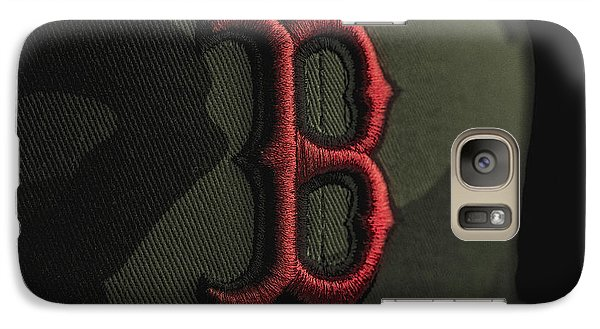 Boston Red Sox Galaxy S7 Case by David Haskett