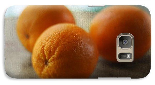 Breakfast Oranges Galaxy Case by Amy Tyler
