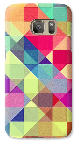 Broken Rainbow II Galaxy Case by VessDSign