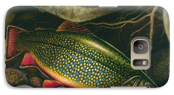 Brook Trout Lair Galaxy S7 Case by JQ Licensing