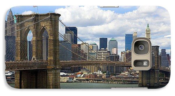 Brooklyn Bridge Galaxy S7 Case by Diane Diederich
