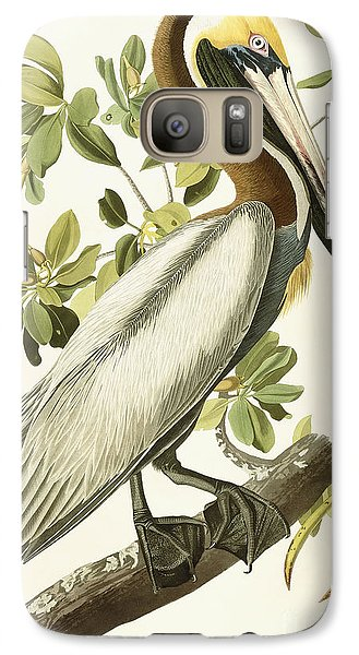 Brown Pelican Galaxy S7 Case by John James Audubon